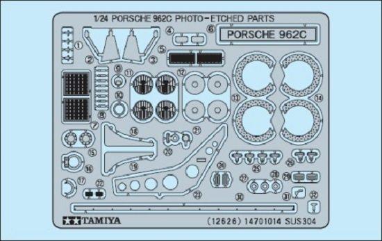 Tamiya Porsche 962C Photo-Etched Parts Set