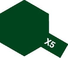 Tamiya Email Zelená (Green) X-5