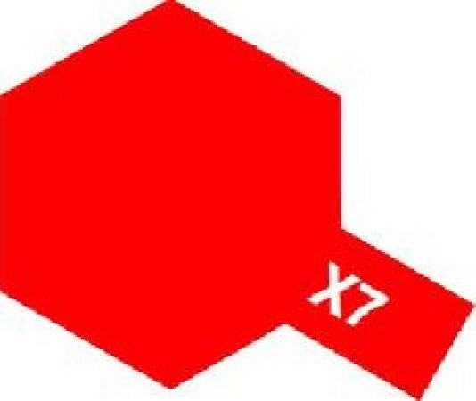 Tamiya Email Červená (Red) X-7