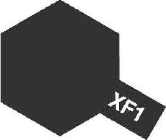 Tamiya Email Černá (Flat Black) XF-1