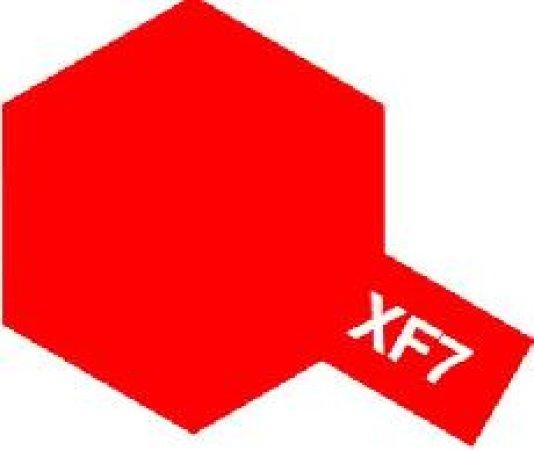 Tamiya Email Červená (Flat Red) XF-7