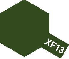 Tamiya Email Japonská armádní zelená (J.A.Green) XF-13
