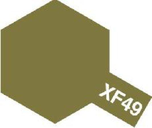 Tamiya Email Hnědo žlutá (Khaki) XF-49