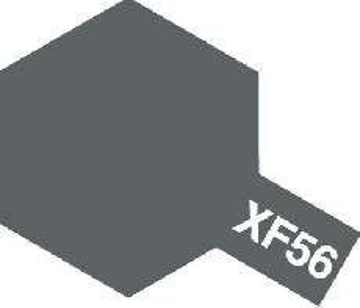 Tamiya Email Kovově šedá (Metallic Grey) XF-56