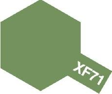 Tamiya Email Japonská interiérová zelená (Cockpit Green - IJN) XF-71