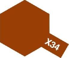 Tamiya Email Hnědá (Metallic Brown) X-34