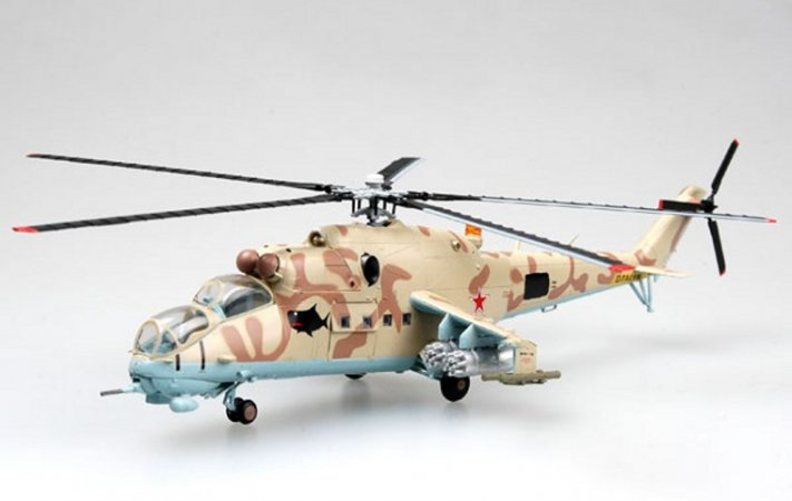 Easy model Helicopter - Mi-24 Russian Air Force White 03