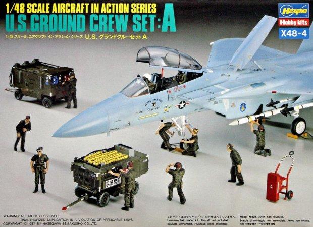 Hasegawa U.S. Ground Crew A