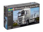Revell Plastikový model kamionu Mercedes-Benz Actros MP3
