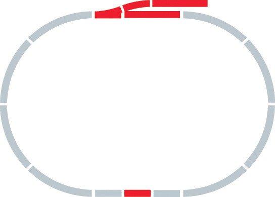 Hornby Rozšíření trati sada - Extension Pack A