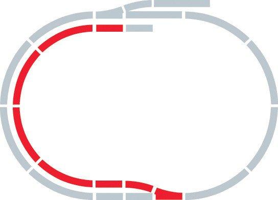 Hornby Rozšíření trati sada - Extension Pack B
