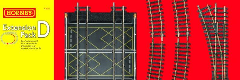 Hornby Rozšíření trati sada - Extension Pack D