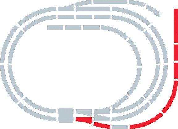Hornby Rozšíření trati sada - Extension Pack E