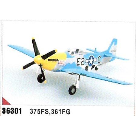 Easy model P-51D Mustang Louiv, E2C 375 FS, 361 FG