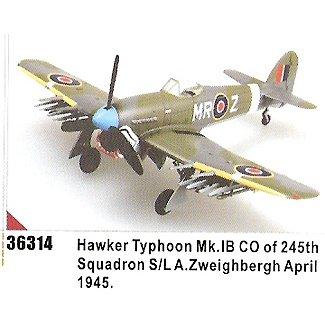 Easy model Typhoon Mk. IB - CO of 245th Squadron S/LA. Zweihbergh