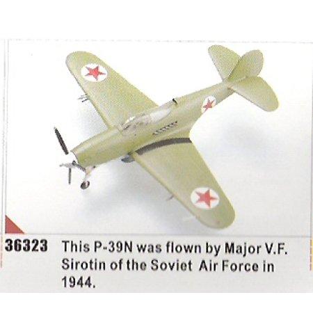 Easy model P-39N the Soviet Air Force in 1944 (Major V.F. Sirotin)