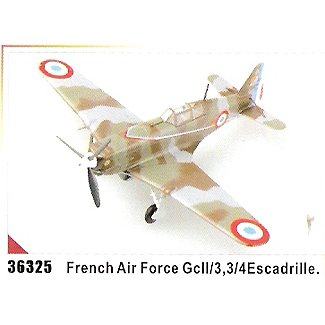 Easy model MS.406 - French Air Force GcII/3,3/4E scadrille