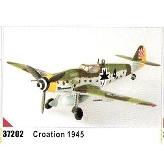 Easy model BF-109G-10 - Croatians 1945