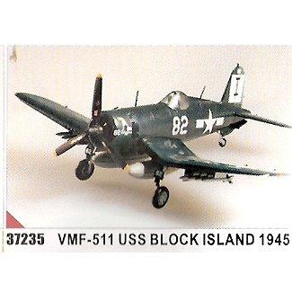 Easy model F4U-1D VMF-511 USS Block Island 1945