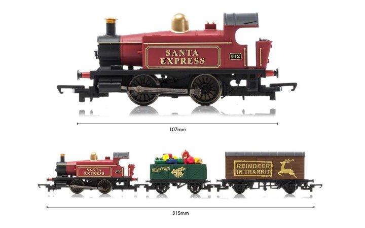 Hornby Modelová železnice analogová - Santa's Express Train Set