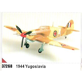 Easy model Hurricane Mk II Trop - Yugoslavia 1944