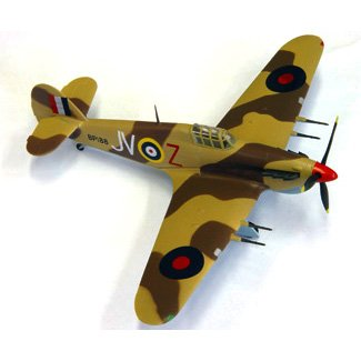 Easy model Hurricane Mk II Trop 6 - Squadron Egypt 1942