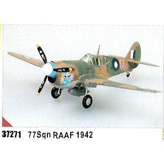 Easy model P-40 E Tomahawk 77 - Squadron  RAAF 1942