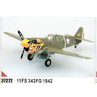 Easy model P-40 E Tomahawk 11FS 343FG - 1942