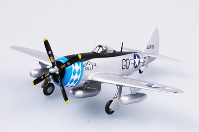 Easy model P-47D 355 FS, 354 FG