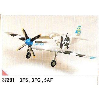 Easy model P-51D Mustang 3 FS, 3 FG, 5 AF