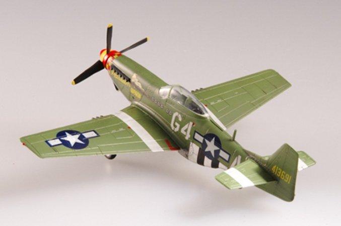 Easy model P-51D Mustang - 362 FS, 357 FG - Arval J. Robertson 1944