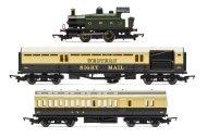 Hornby Modelová železnice analogová - Postal Express Train Set