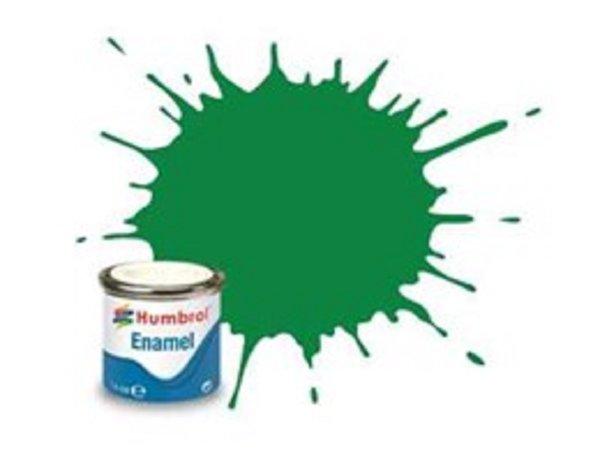 Humbrol Barva emailová lesklá - Smaragdově zelená (Emerald) - č. 2