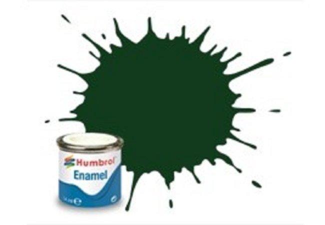 Humbrol Barva emailová lesklá - Tmavě zelená (Brunswick Green) - č. 3