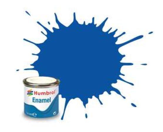 Humbrol Barva emailová lesklá - Francouzská modrá (French Blue) - č. 14