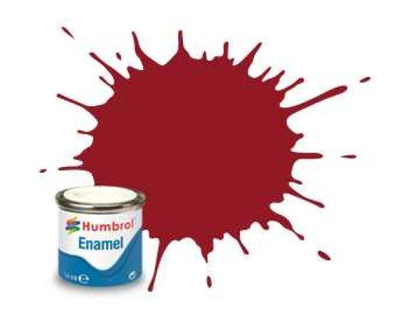 Humbrol Barva emailová lesklá - Purpurová (Crimson) - č. 20