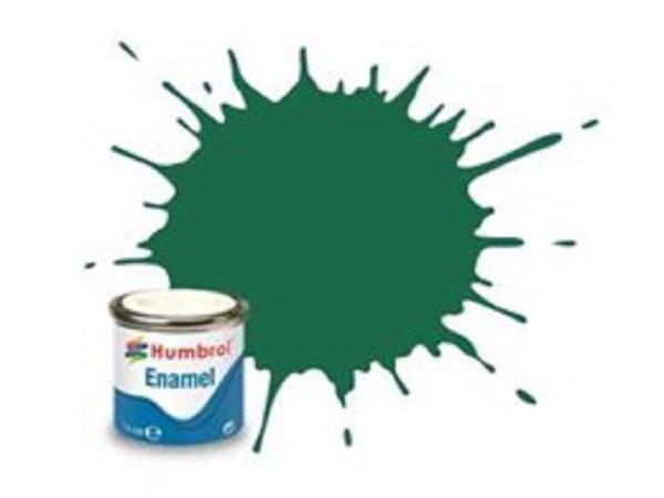 Humbrol Barva emailová matná - Tmavě zelená (Dark Green) - č. 30