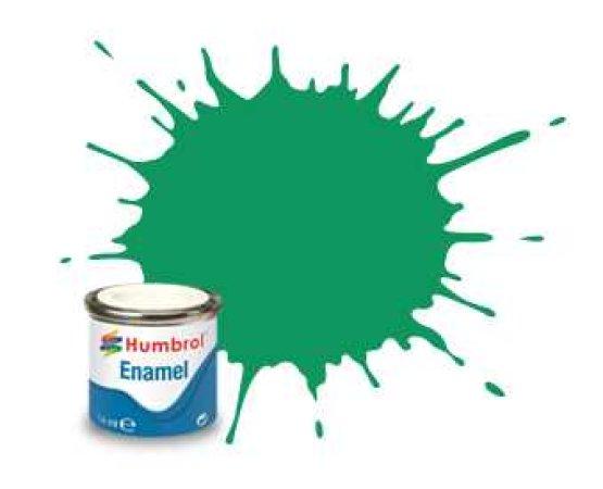 Humbrol Barva emailová metalická - Zamlžená zelená (Green Mist) - č. 50