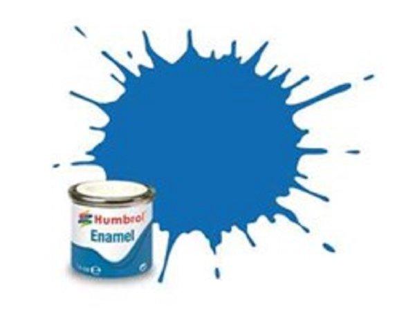 Humbrol Barva emailová metalická - Baltská modrá (Baltic Blue) - č. 52