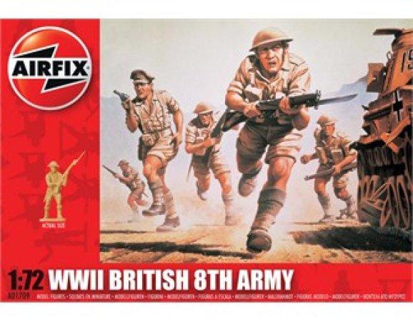 Airfix WWII British 8th Army - Výprodej