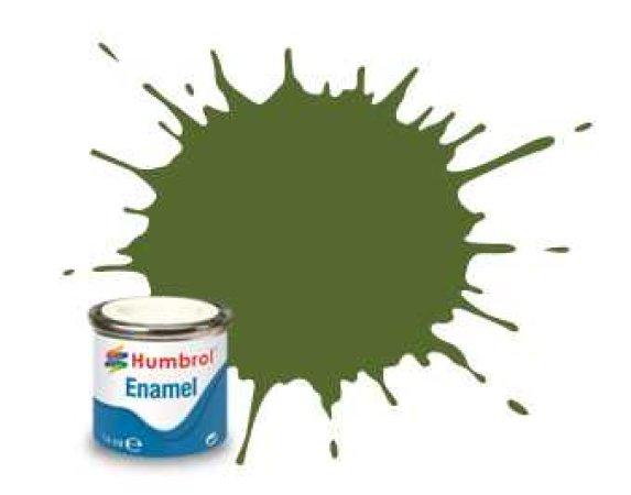 Humbrol Barva emailová matná - Tmavě zelená (Deck Green) - č. 88