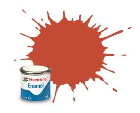 Humbrol Barva emailová matná - Červeno-hnědá (Red Brown) - č. 100