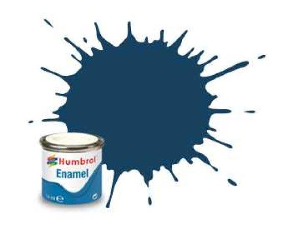 Humbrol Barva emailová matná - Modrá (Oxford Blue) - č. 104