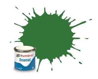 Humbrol Barva emailová hedvábně matná - Zelená (Green) - č. 131