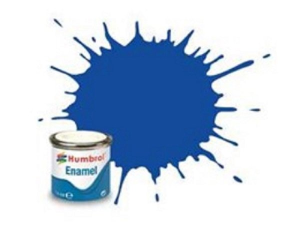 Humbrol Barva emailová metalická - Tmavě modrá (Moonlight Blue) - č. 222