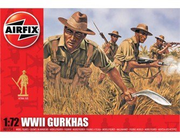 Airfix WWII Gurkhas - Výprodej