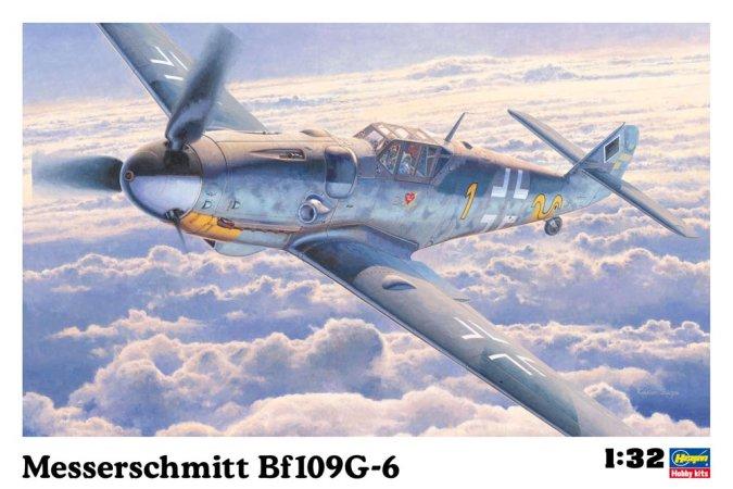 Hasegawa Messerschmitt BF109G-6