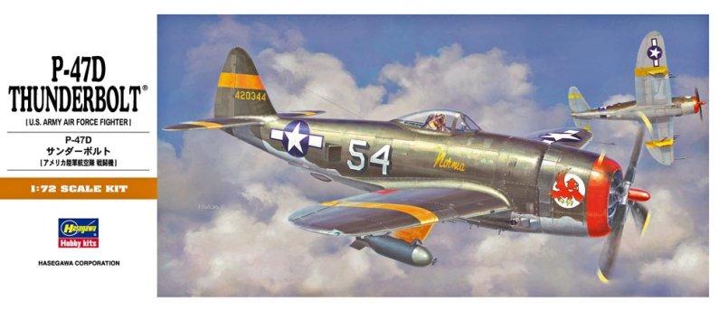 Hasegawa P-47D Thunderbolt