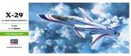 Hasegawa X-29