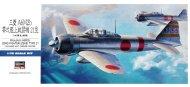 Hasegawa Mitsubishi A6M2 Zero Fighter Type 21 (Zeke)